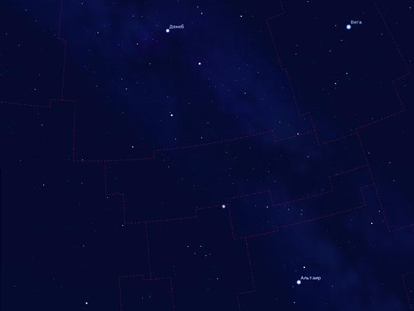 Новая звезда в созвездии Дельфина | 14 августа 2013 | Андрей Климковский