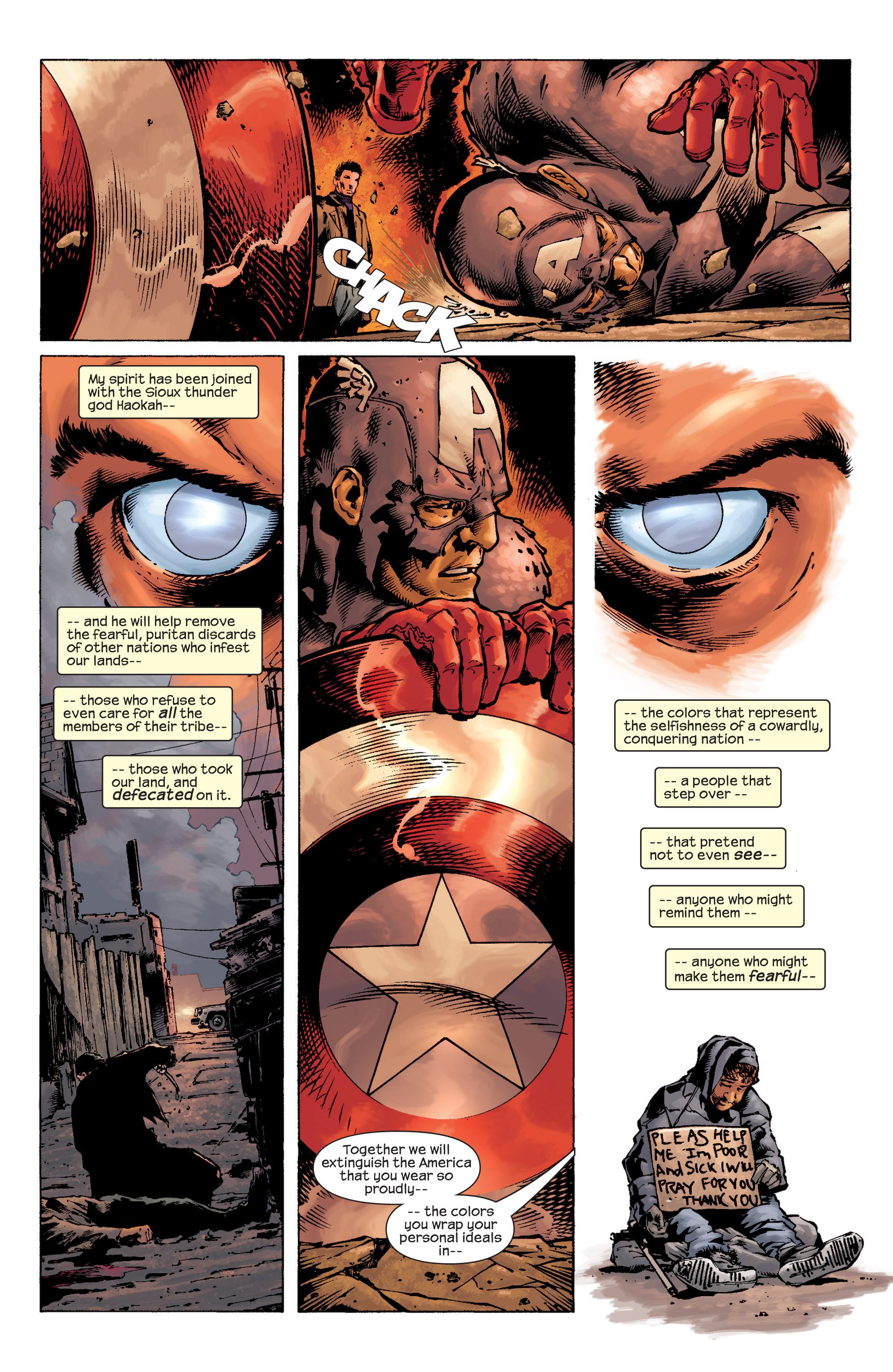 Captain America (2002) Issue #9 #10 - English 10