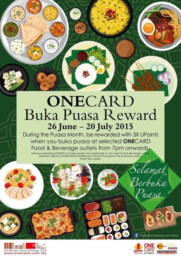 OneCard Buka Puasa Reward