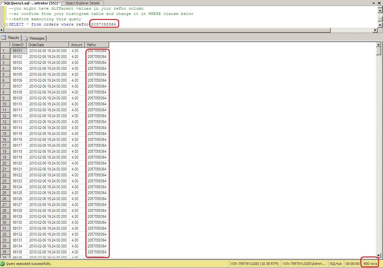Sql date format