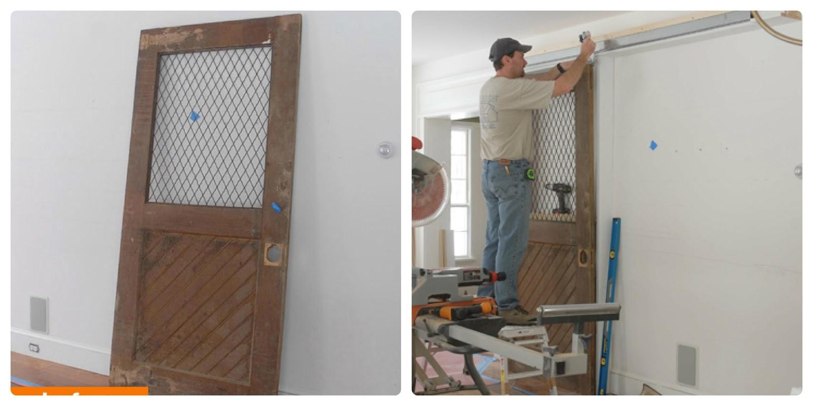 Eternamente flaneur reciclar una vieja puerta for Puertas para reciclar