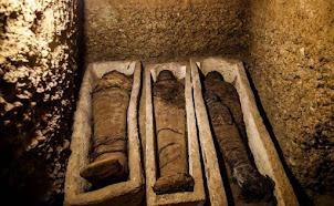 Egypte : Découverte d'une quarantaine de momies datant de plus de 2000 ans