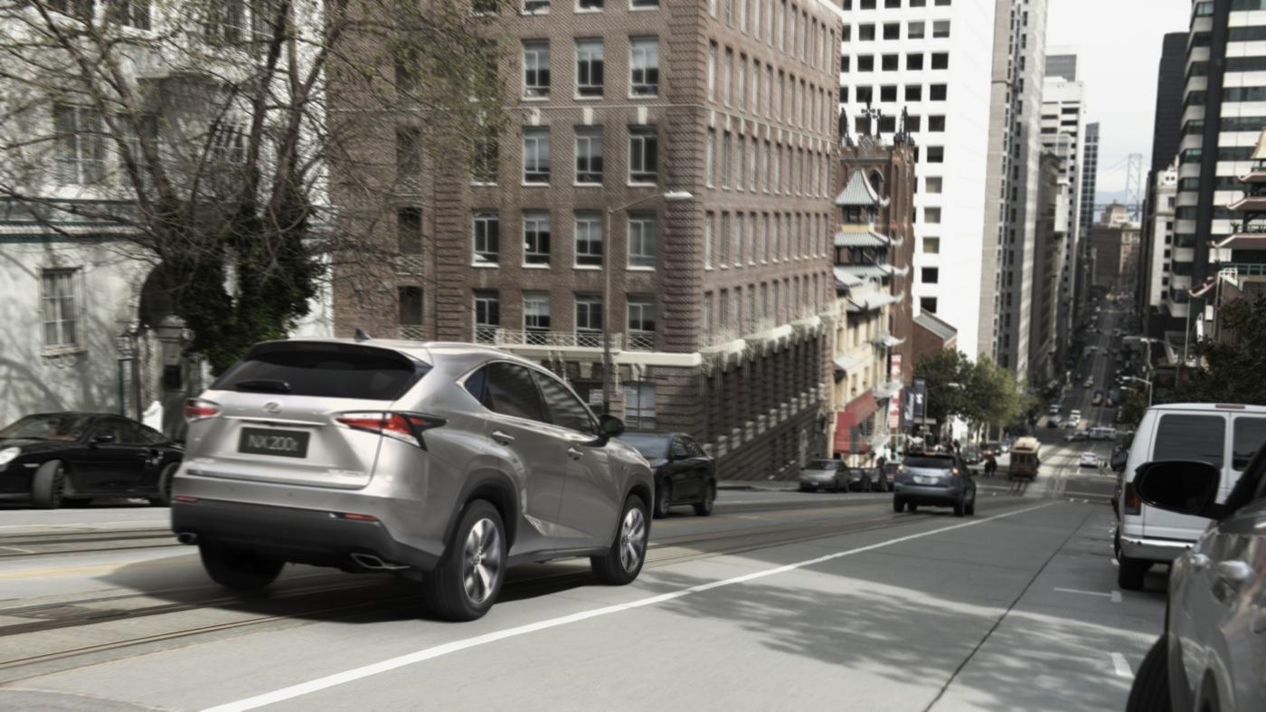 2015 Lexus NX rear angle