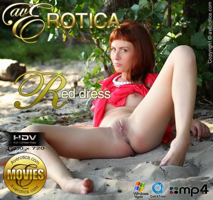 CrffdEroticg 2013-11-20 Renata – Red Dress (HD Video)