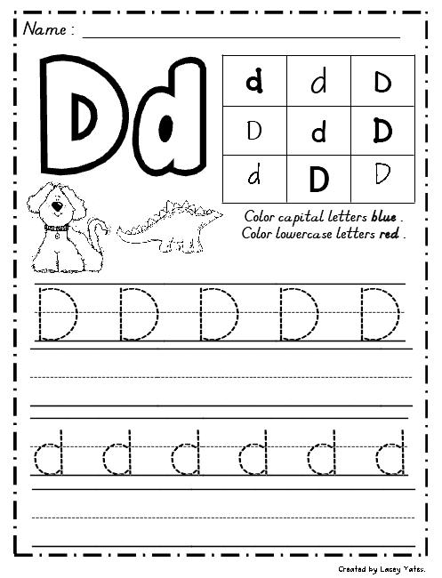 Teaching Letters To Kindergarten - Vivian Chambers blog