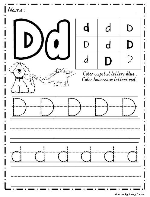 Number Names Worksheets : handwriting practice letter a ~ Free ...