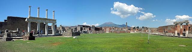 Pompeii, Italy, Amalfi, Forum, Mount Vesuvius