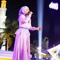 Foto Fatin Shidqia saat tampil di Acara Tabligh Akbar IDUL ADHA