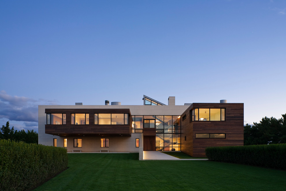 50 fotos de fachadas de casas modernas peque as bonitas for Los mejores techos de casas