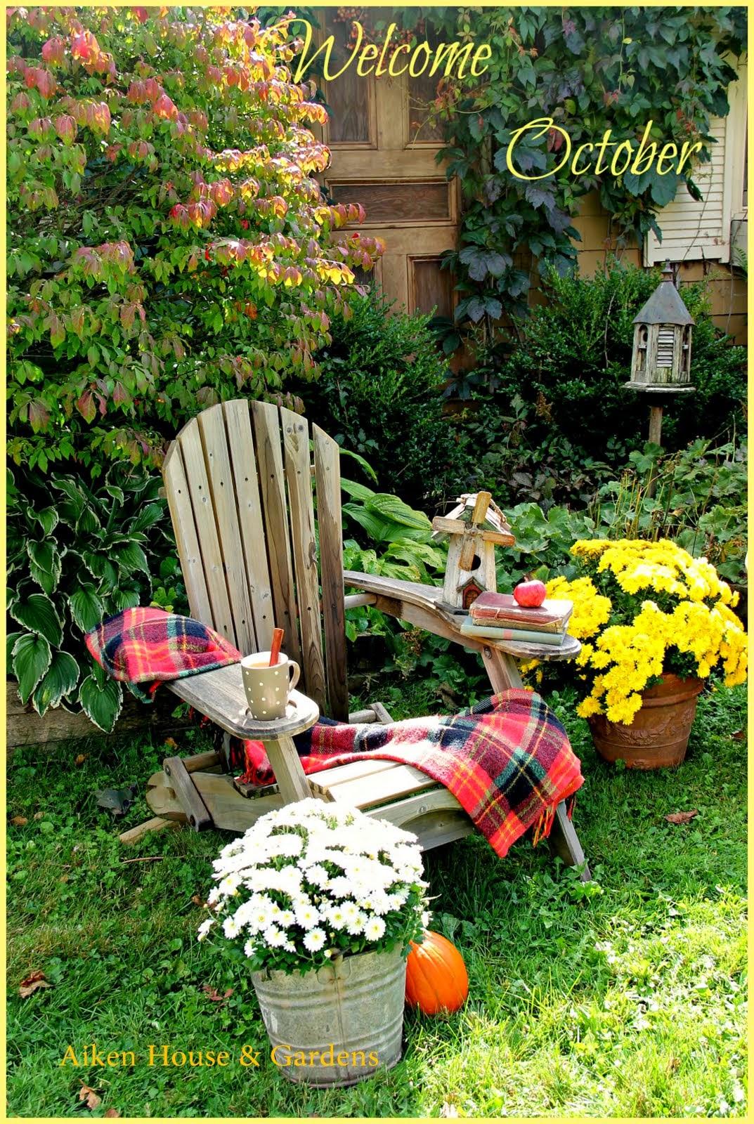 Aiken house gardens welcome october for Aiken house