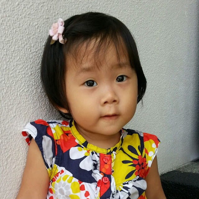 Two-year-old Kah Yen