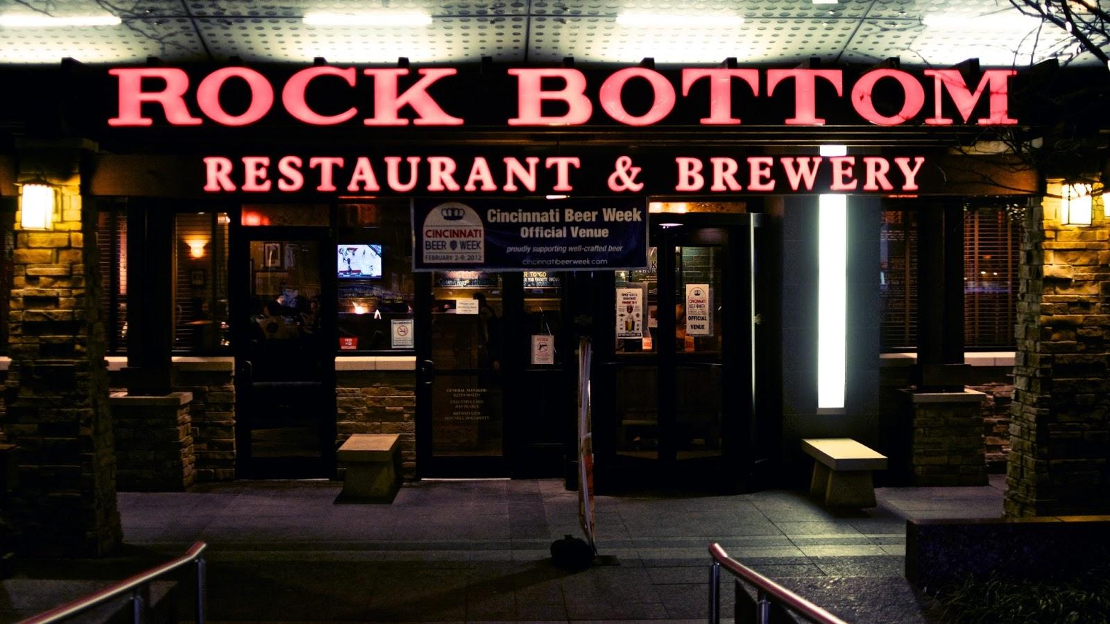 Rock Bottom Restaurant Amherst Ny Menu