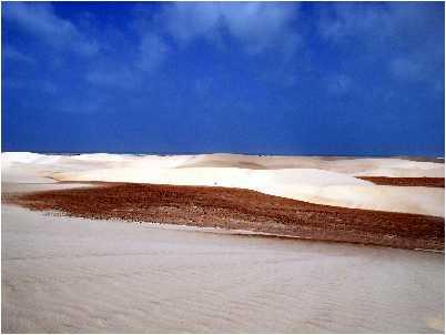 Dune de nisip in Socotra