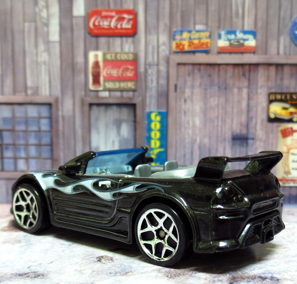 Garagem Hot Wheels Mitsubishi Eclipse Convertible