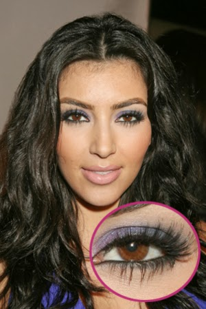 Makeup for Big Brown Eyes