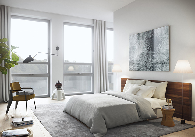 Homes to inspire stockholm school conversion the for Inspire apartments