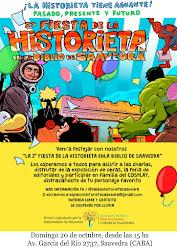 Charla sobre La Historieta Argentina en la Biblioteca de Saavedra