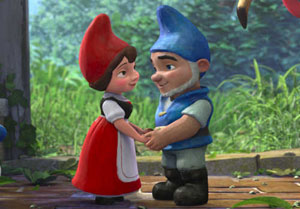 LAMINAS PARA COLOREAR   COLORING PAGES: Gnomeo y Julieta para