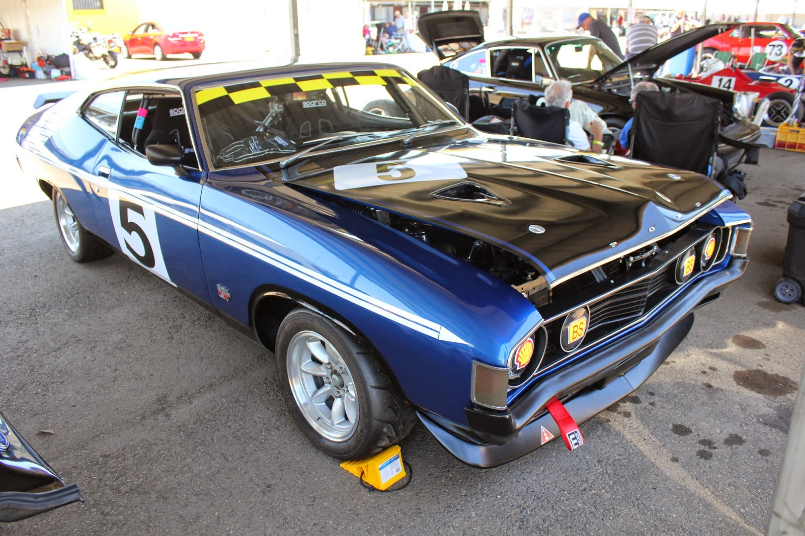 Aussie Old Parked Cars: 1973 Ford XA Falcon GT 351 Hardtop Race Car