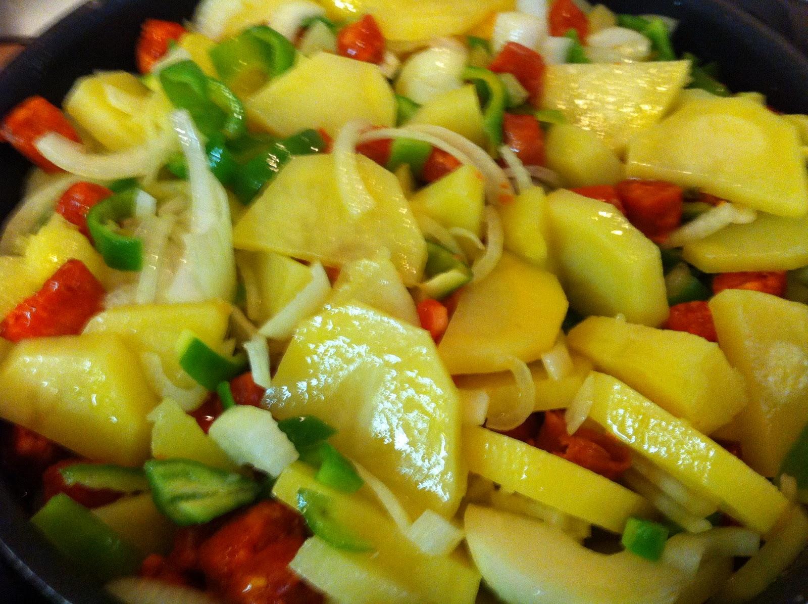 Mis secretos de cocina patatas de la feria - Cuanto tarda en cocer una patata ...