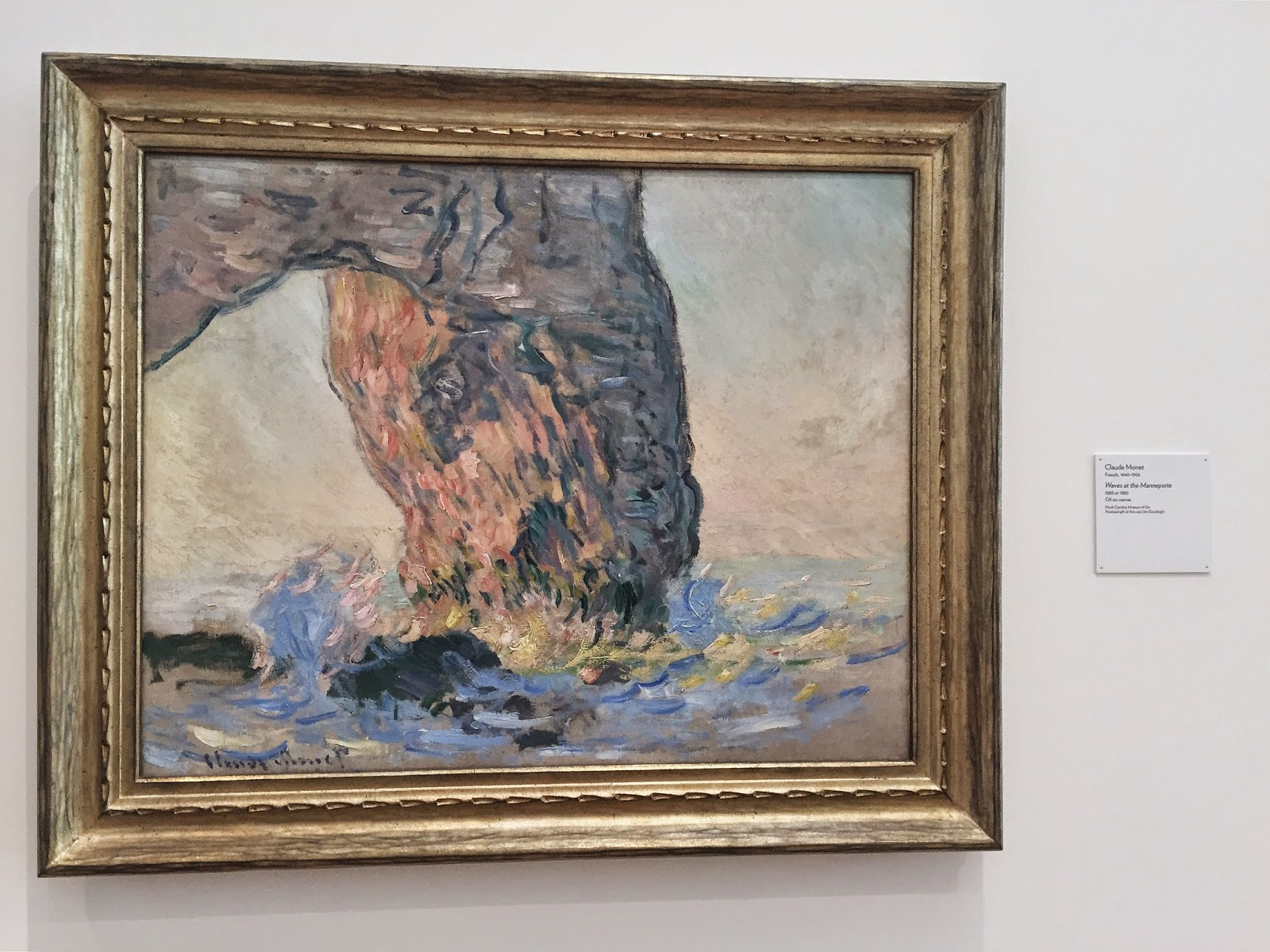 Claude Monet, North Carolina Museum of Art, NCMA, Raleigh, North Carolina, things to do in Raleigh, things to go in North Carolina, art, art museum