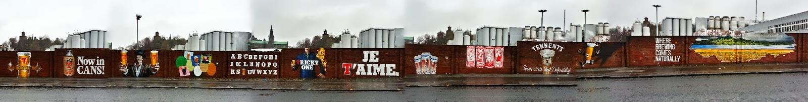 Wellpark Brewery mural, Glasgow