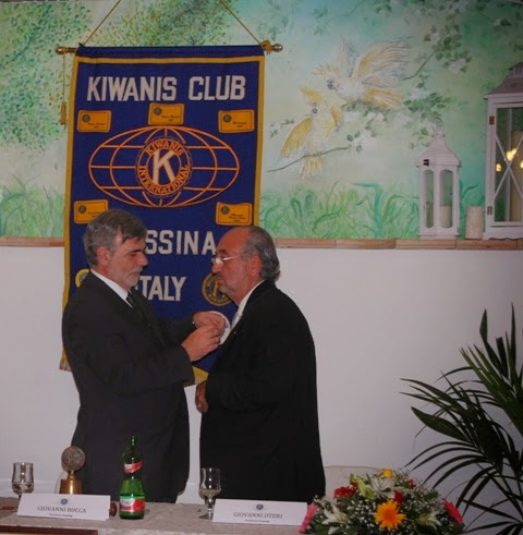 KIWANIS CLUB MESSINA: GIOVANNI OTERI IL NUOVO PRESIDENTE