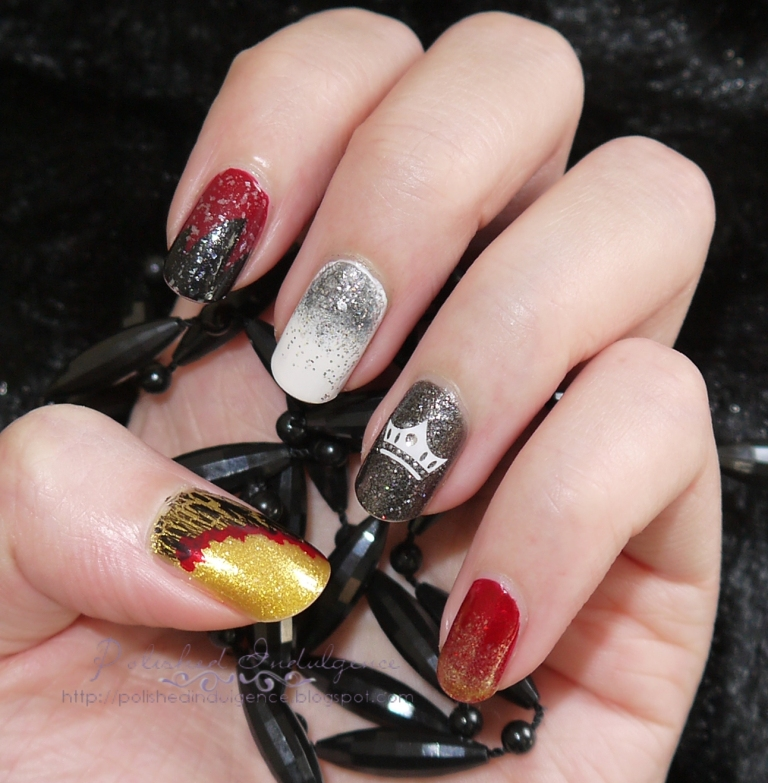 Polished Indulgence: Nail Art Wednesday: Game of Thrones Inspired Nails