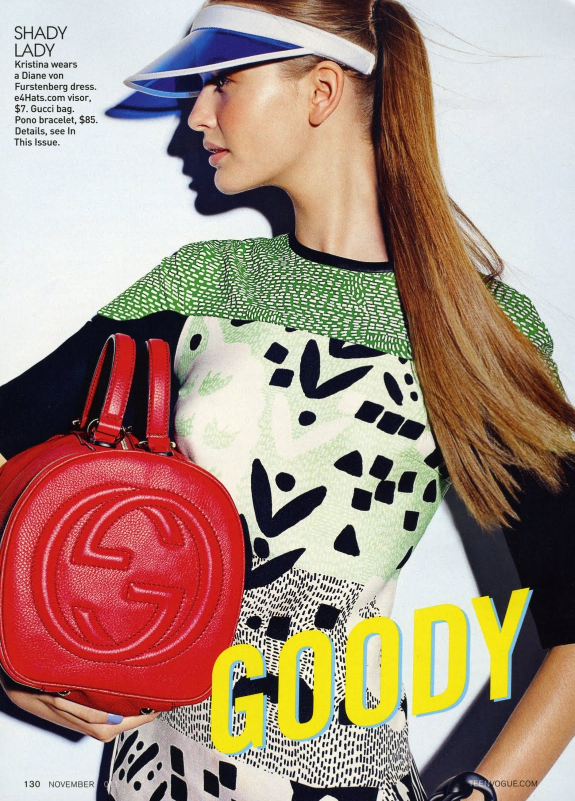 Teen Vogue November 2011 Editorial Model: Kristina Romanova