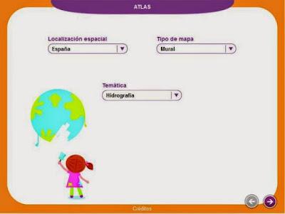 http://www.educa.madrid.org/web/cp.alarcon.valdemoro/Web/ColePAA10/MATERIAL-DCO/RECURSOS%20SANTILLANA/0%20SEGUNDO%20CICLO/RECURSOS%20GENERICOS/Atlas/index.html