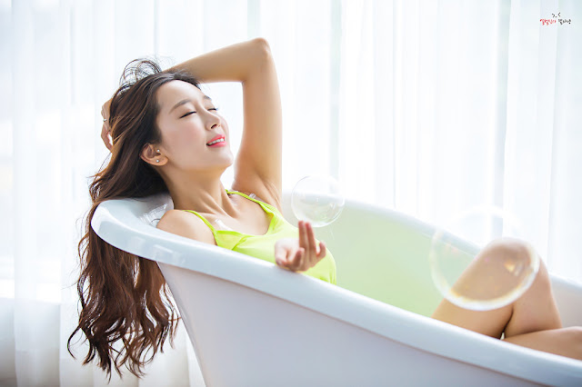 4 Han Ji Oh - Indoor Shoot - very cute asian girl-girlcute4u.blogspot.com