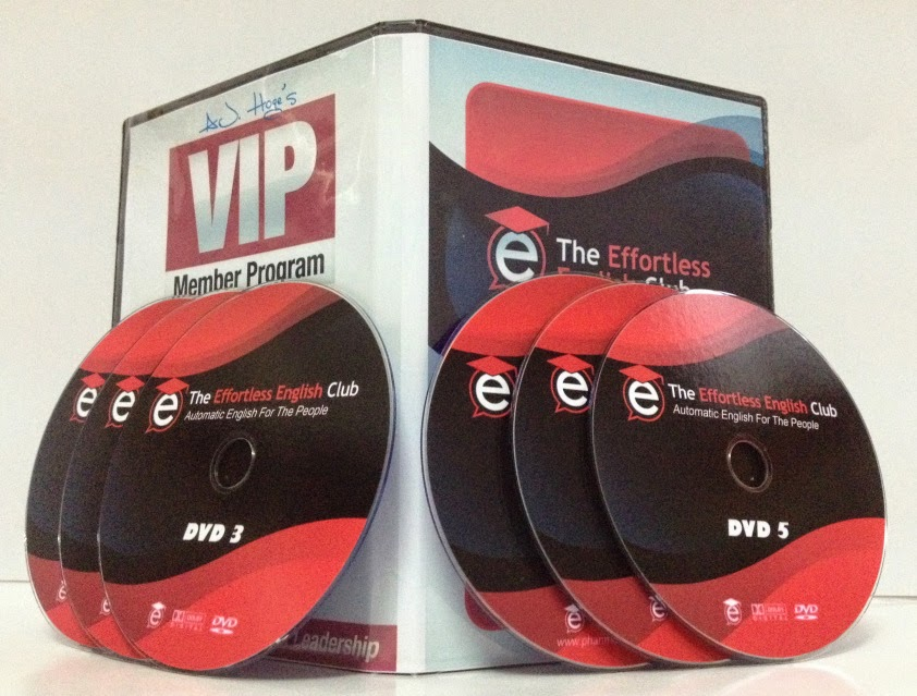 effortless english program 4 dvd