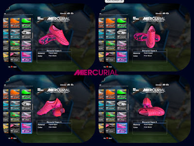 PES 2013 Pink Nike Mercurial Superfly 2015-2016 Boots by Jayk