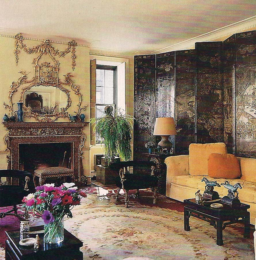 The Devoted Classicist Michael Taylor For Nan Kempner
