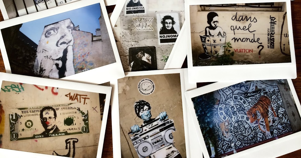 A hip new way to experience paris le marais street art polaroid tour with mon beau paris