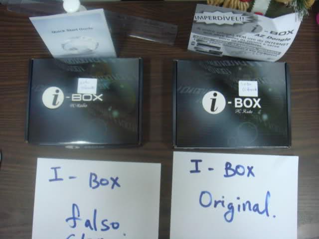 Cuidado ao comprar i-box mais um clone circulando no py