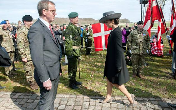 Princess Mary at the 75th anniversary of the Nazi occupation