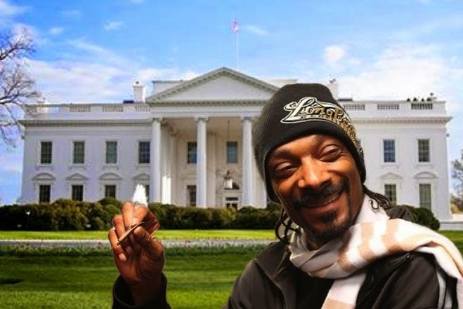 fumar maconha na casa do Obama