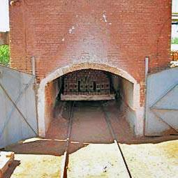 фото тоннельной обжиговой печи