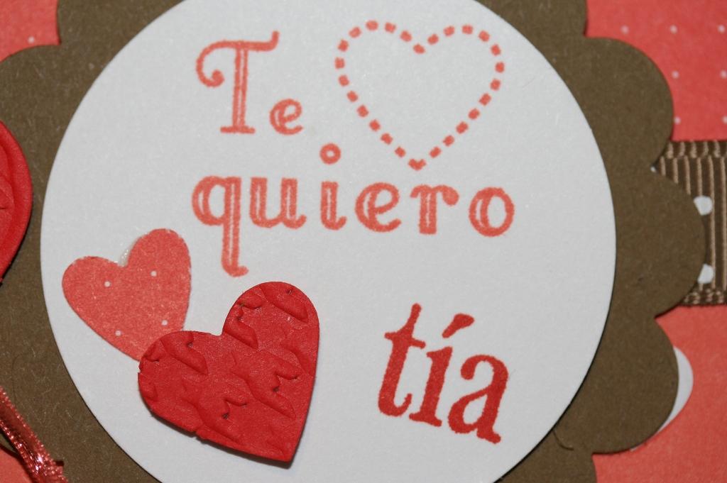 Designed by maryross: Te quiero Tía