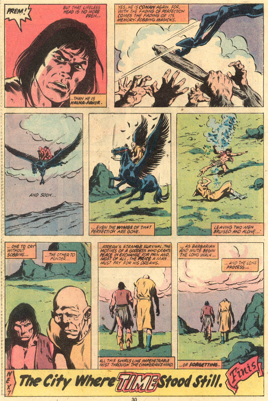Conan the Barbarian (1970) Issue #121 #133 - English 23