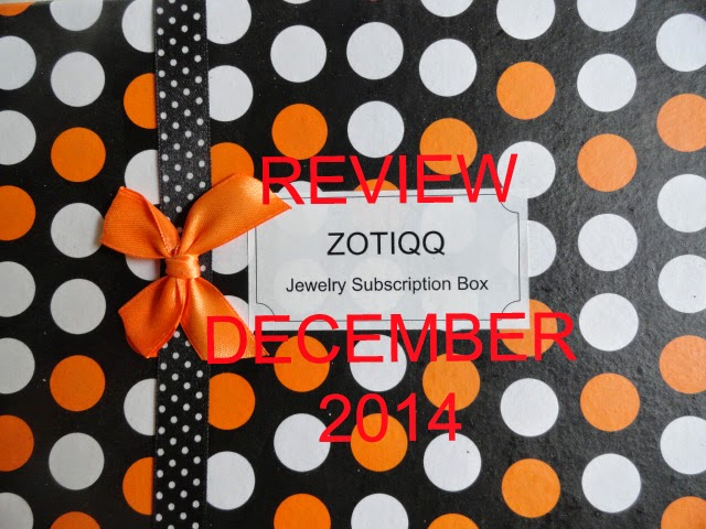REVIEW: Zotiqq Jewellery Subscription Box for December 2014 image