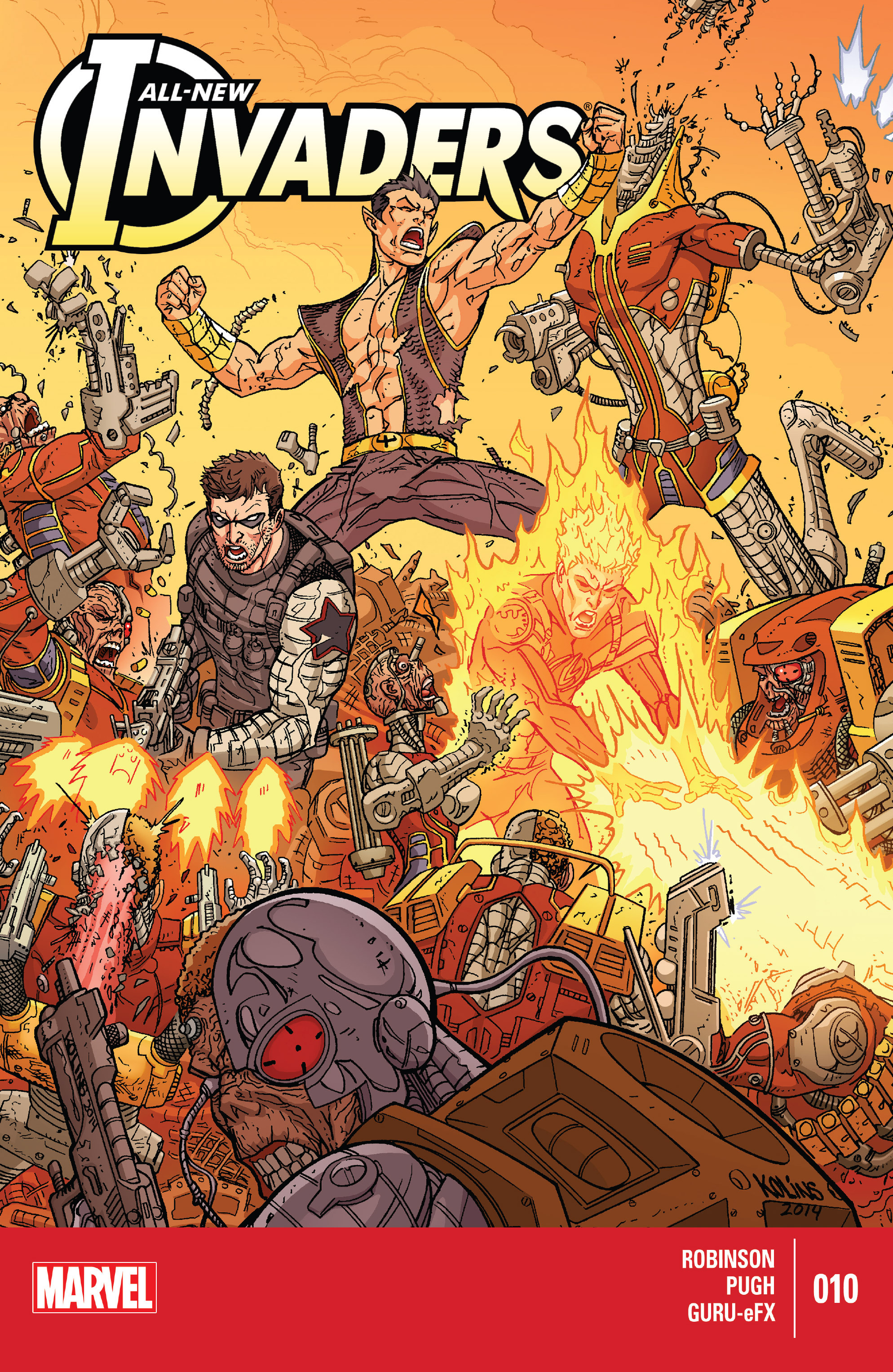 Read online All-New Invaders comic -  Issue #10 - 1