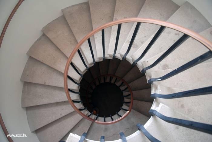 Escaleras De Caracol De Obra. Latest En Acero Inoxidable With ...