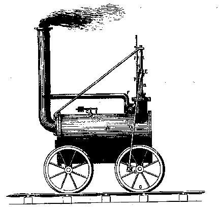 Maquinas de tren a vapor en dibujos - Imagui