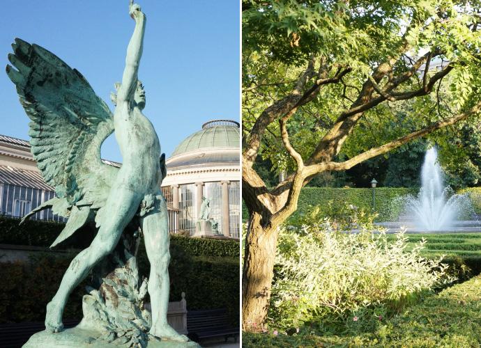 Promenade dans les rues de bruxelles louise grenadine - Statue de jardin belgique ...