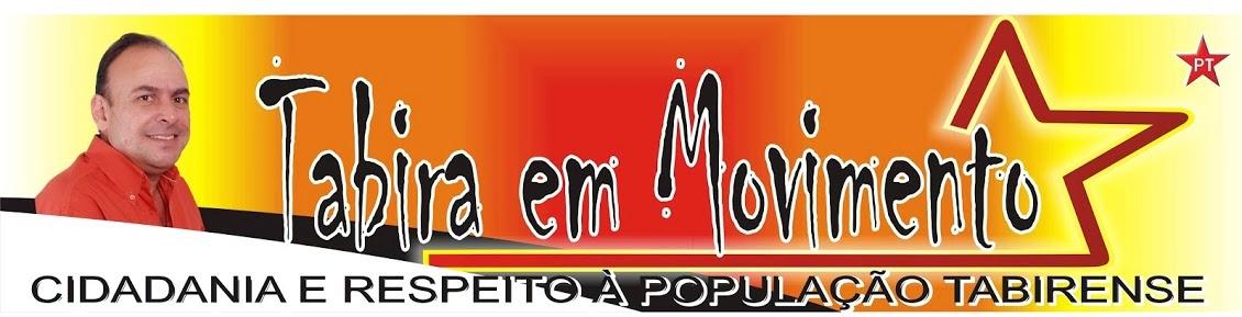 TABIRA EM MOVIMENTO