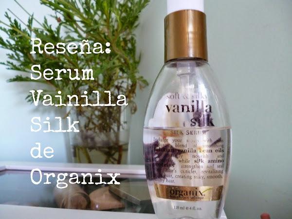 Reseña: Serum para el cabello Vainilla Silk de Organix