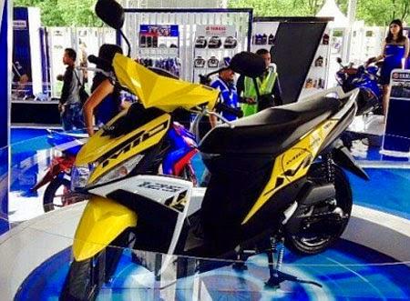 gambar motor mio m3 terbaru 2015 mesin blue core
