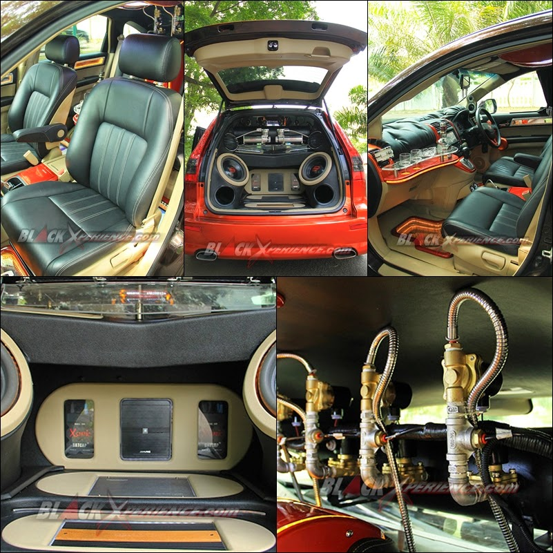 interior modifikasi honda crv